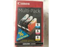 Canon printer cartridges 6