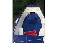 18' Plymouth pilot fishing boat,original gelcoat condition,3 cylinder diesel ,galvanised trailer
