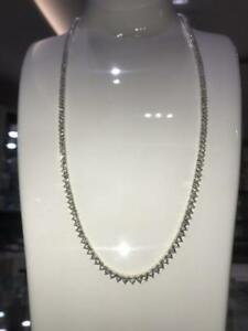 BRAND NEW 10K YELLOW GOLD & 2.60CT OF DIAMONDS TENNIS CHAIN 24 INCHES 3.5MM