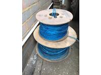 Two reels of rope BT Draw rope