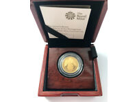 THE QUEEN'S BEASTS THE FALCON OF THE PLANTAGENETS 2019 GOLD PROOF COIN