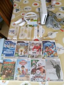 Wii bundle with 9 games