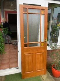 Hard wood doors