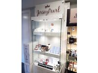 Jersey Pearl Display Cabinet