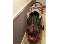 Baby Jogger City Mini Single Stroller - Crimson