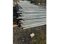 Heras fencing GRADE B , temporary site fencing , herras Harris