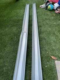 Lindab steel gutters