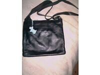 Black Radley cross body bag