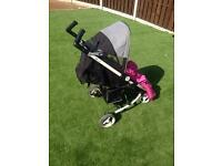 Zia + pram/push chair (great condition)