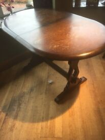 ERCOL style DINING TABLE