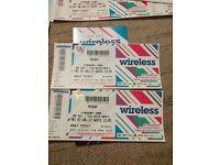 Wireless tickets x2