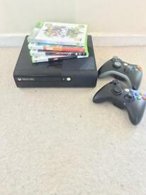 Xbox 360 500gb games and controllers
