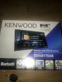 Kenwood DAB,monitor and DVD receiver