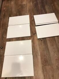 3 bifold kitchen doors- as new
