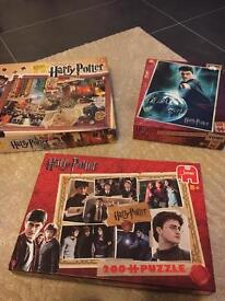Harry Potter x 3 Jigsaws - £8 each or 3 for 18