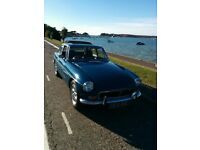 MG BGT Teal Blue 1971, priced to sell!