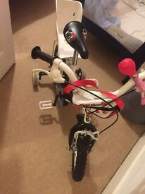 """Apollo lulu 12"""" bike for girl excellent condition!"""