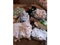 Various newborn - 1 month baby boy clothes