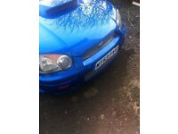 Subaru Impreza wry sti type uk 2003