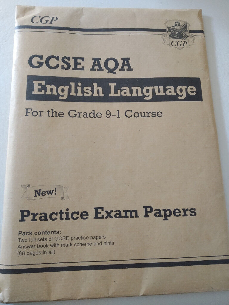 GCSE English Language AQA Practice Papers For the Grade 9-1 Course | in  Byfleet, Surrey | Gumtree