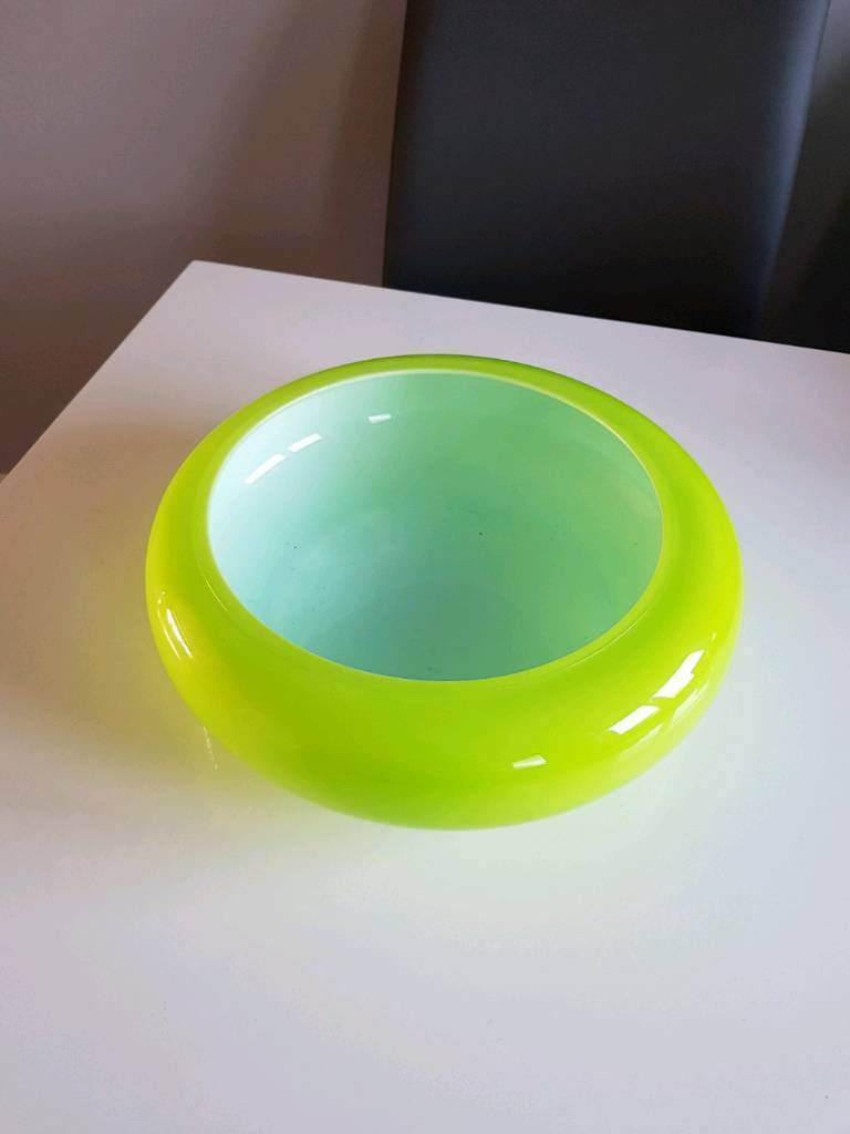 Lovely Lime Green Fruit Bowl