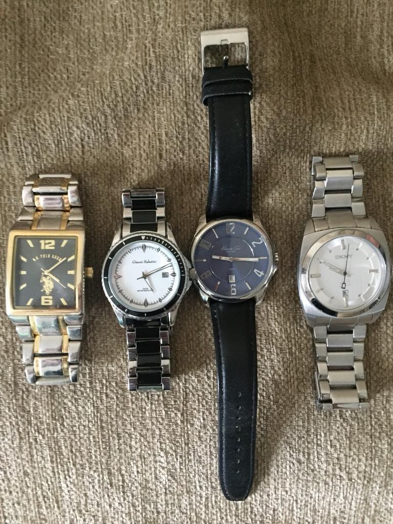 4 Men's Watches