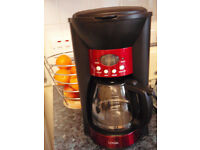 Coffee maker 10 cup size - digital display with timer