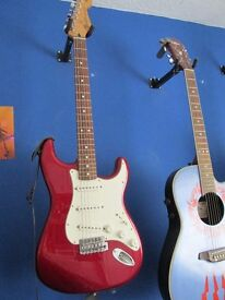 Mexican Stratocaster as new! with fender softcase