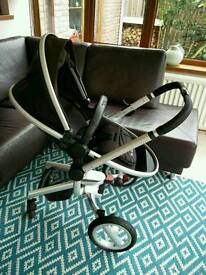 Silver Cross Surf Pushchair & Carrycot