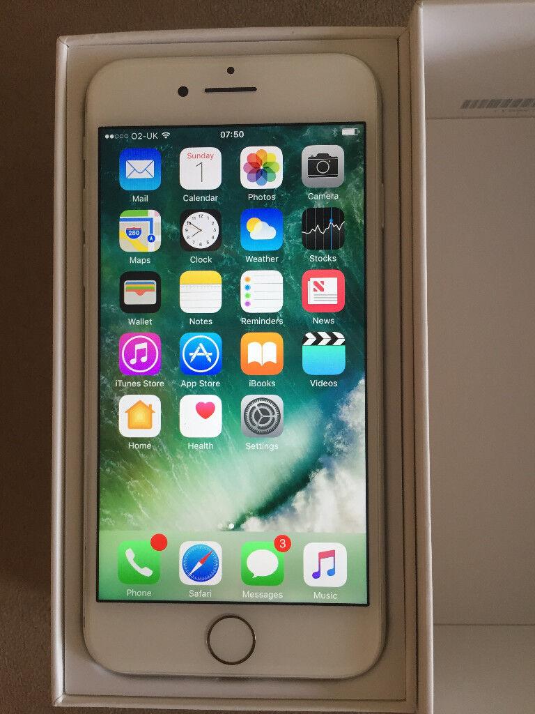 Apple Iphone 7 128gb silver £480