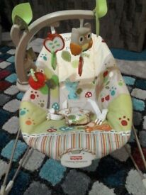 Mothercare Woodsy baby bouncer