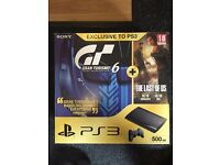 PS3 + 2 games for sale cheap due to moving