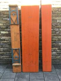 Vintage German Bierkeller Tables and Benches