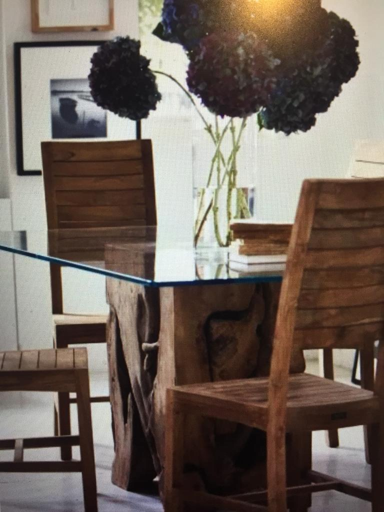 Raft Teak Root Dining Table And Chairs In Wandsworth London Gumtree
