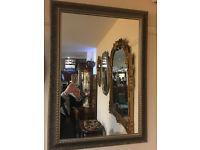 Attractive Decorative Gilt Carved Framed Rectangular Mirror