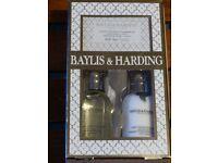 Baylis & Harding soap, body wash & body lotion gift set