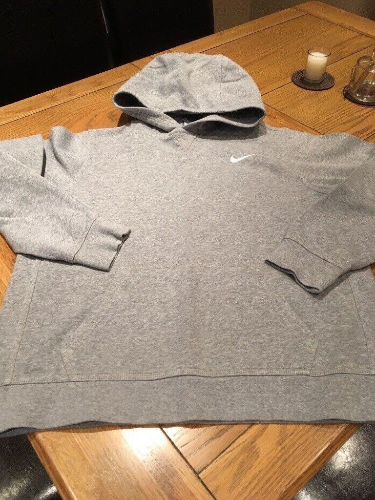 Nike Kids Grey Hoodie