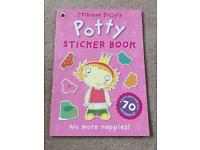 Princess polly's potty sticker book
