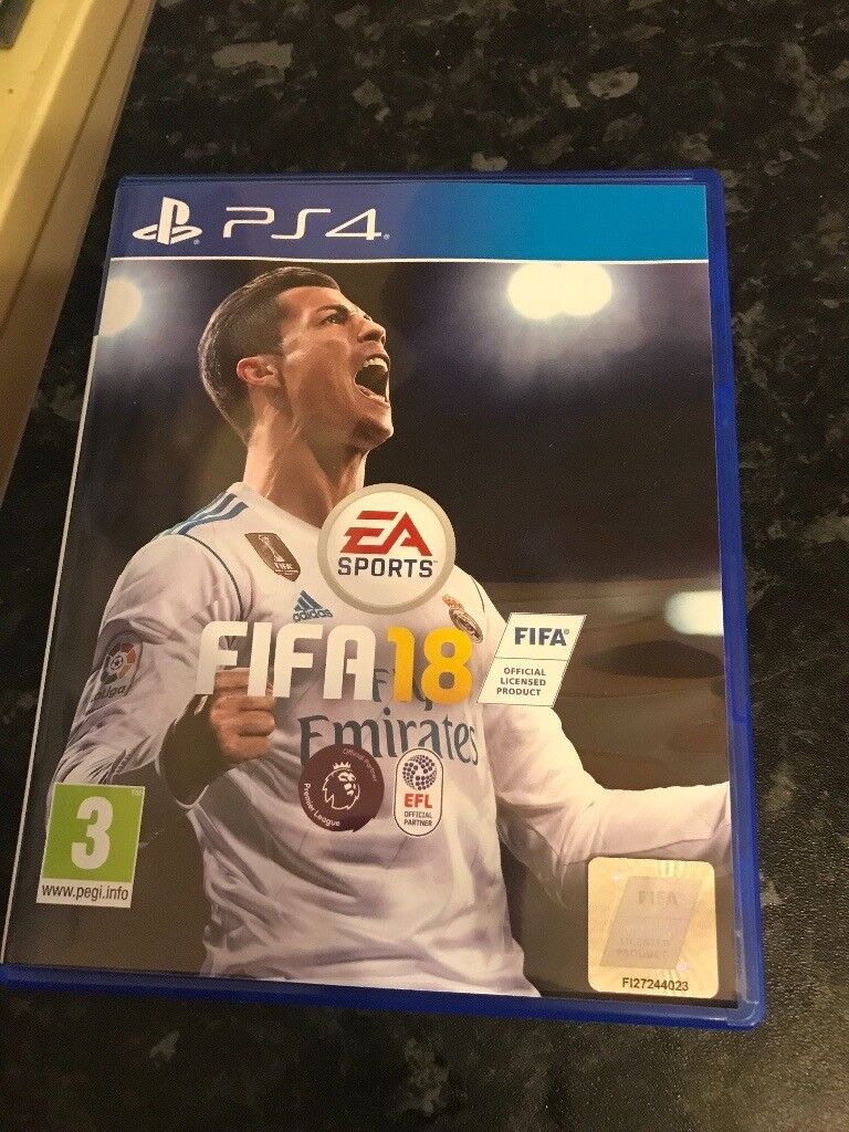 Fifa 18 PS4 - played once