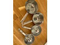 Sabichi Stainless Steel 7 piece cookware pots & pans