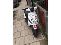 Piaggio zip 70cc not gilera not Honda not typhoon not Yamaha not kx not yzf