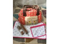 Blooming Gorgeous Changing Bag by Pink Lining