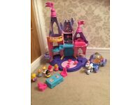 Fisher-Price Little People Disney princess palace and carriage for sale