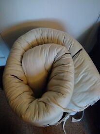 Double futon mattress