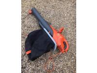 Flymo scirocco garden leaf vac and blower - 2500w