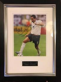 Signed Frank Lampard Memorabilia