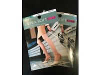M&S Ultrasoft tights unused (x2)