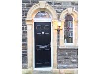 GRP/ composite front door