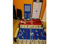 Multi Sports Table Including Pool, Football, Push Hockey Table Tennis