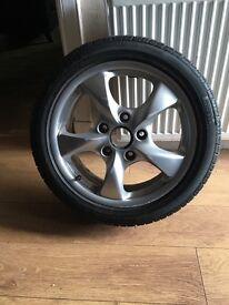 Porsche Boxster wheel